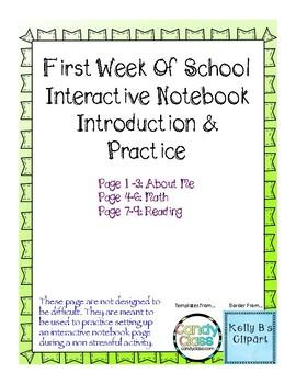 Back to School Interactive Activities