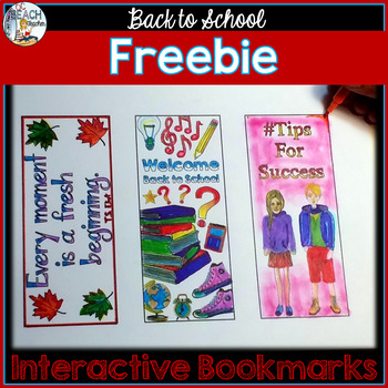 Back to School Coloring Bookmarks