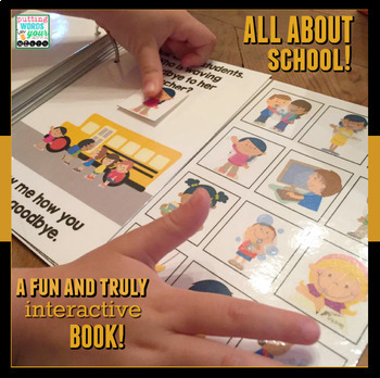 Back to School Interactive Books BUNDLE! {for wh- questions}