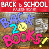 Back to School Interactive Bulletin Board
