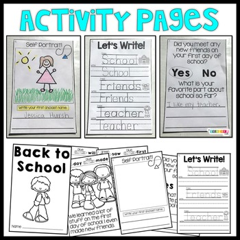 Back to School - Interactive Easy Reader