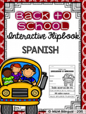 Back to School Interactive Flipbook {SPANISH}