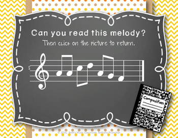 Back to School! Interactive Melodic/Solfa Game - Pentatonic DRMSL (Kodaly)