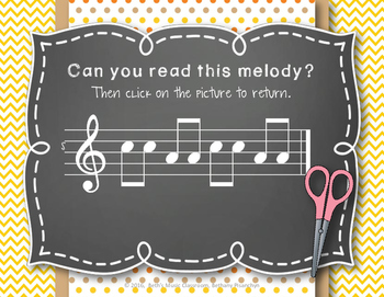 Back to School! Interactive Melodic/Solfa Game - SM (Kodaly)