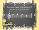Back to School! Interactive Melodic/Solfa Game - SML (Kodaly)