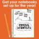 Back to School Interactive Notebook Bundle- (Science, Social Studies, & Writing)