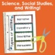 Back to School Interactive Notebook Bundle- (Science, Soci