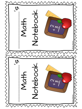 Back to School Interactive Notebook Covers Freebie!