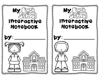 All About Me Interactive Notebook