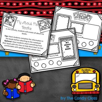 Ice Breakers - Back to School Interactive Notebook Activities