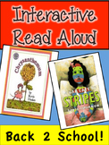Back to School Interactive Read Aloud! Chrysanthemum and Bad Case of Stripes
