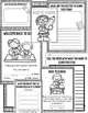 Back to School Interactive Reader, Writing and Coloring Activities