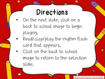 Back to School - Interactive Reading Practice Game {tika tika}