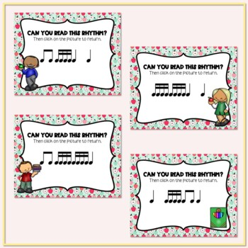 Back to School! Interactive Rhythm Game - Tika-tika/Tiri-tiri (STAFF Notation)