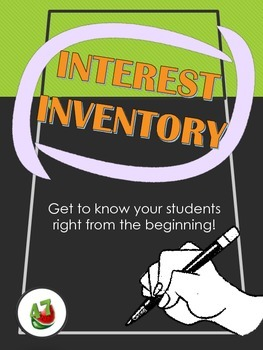 Back to School: Interest Inventory