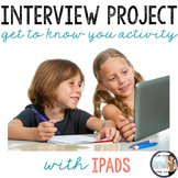 Back to School: Interview a Friend Project for iPads