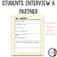 Back to School: Interview a Friend Project {for iPads}
