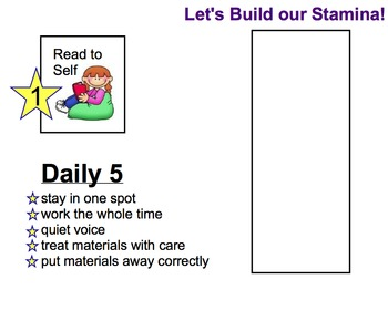 Back to School Introducing Daily 5 Choices