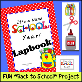 Back to School - It's a New School Year Lapbook
