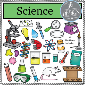 Science Pack (JB Design Clip Art for Personal or Commercial Use)