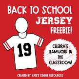 Back to School Jersey FREEBIE