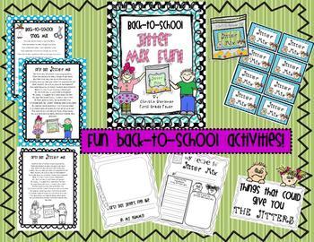 Back-to-School Jitter Mix Fun!