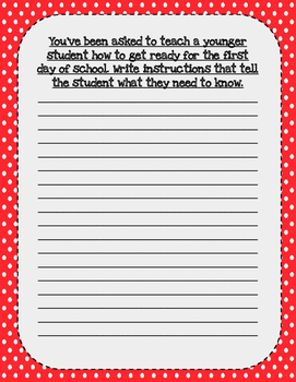 Back to School Journal Prompts!