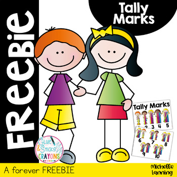 Forever FREEBIE*Tally Mark Poster