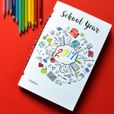 Back to School Journal of Questions and Drawing Prompts for Kids