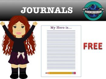 Back to School Journals