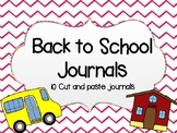Back to School Journals