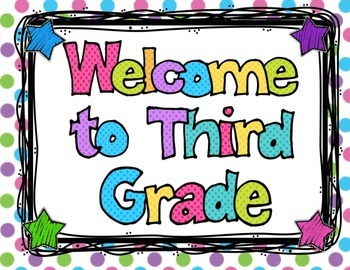 Back to School K- 8 Polka Dot Theme Welcome Banners, Name & Subject Tags &more