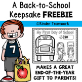 Back to School Keepsake {Free}