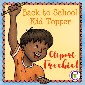 Kid Topper Clipart FREEBIE