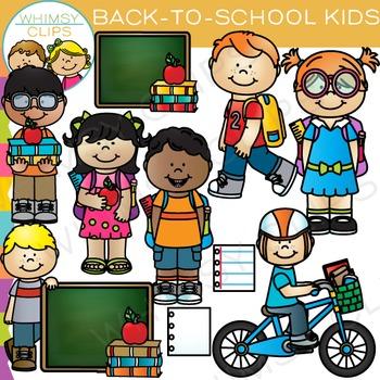 Kids Back-to-School Clip Art