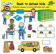 Back to School Kids Clip Art BUNDLE