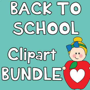 Back to School Clipart BUNDLE