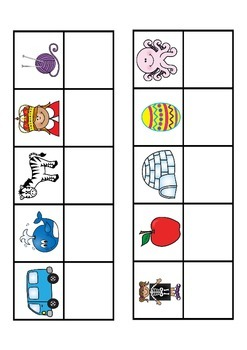 Back to School Kinder ABC Centers