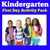 Beginning of the Year Kindergarten Activities