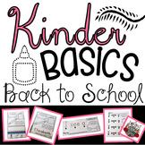 Back to School Kindergarten Activities:  Kindergarten Printables and Centers