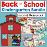 Back to School Kindergarten Bundle Pack