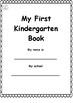 Back to School Activities - Kindergarten Math and Literacy Packet