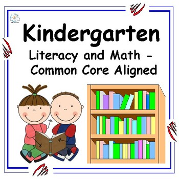 Back to School Math and Literacy Packet {Kindergarten}