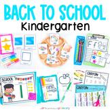Back to School Kindergarten Math & Literacy Pack