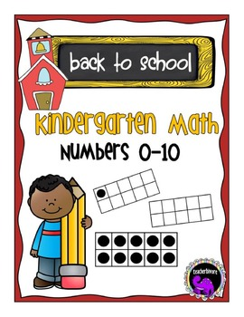Back to School: Kindergarten Math Numbers 1-10 (Counting a