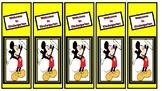 Back to School Kindergarten Mickey Bookmarks