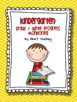{FREEBIE} Back to School Kindergarten Progress Monitoring