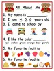 Kindergarten Back to School:  Ready, Set, Go
