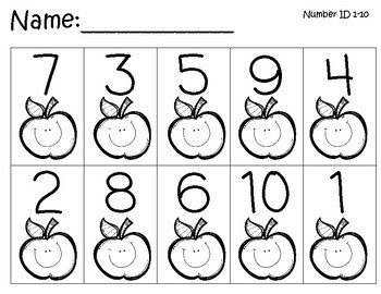 Back to School Kindergarten Resources