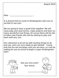 Back to School: Kindergarten Welcome Packet {Editable}